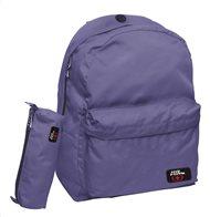 1407382240 No Fear Σχολική Τσάντα Πλάτης Γυμνασίου-Λυκείου Classy Purple GIM   ΔΩΡΟ  Κασετίνα Βαρελάκι
