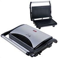 Life Τοστιέρα με grill πλάκες 700W STG-101 INOX