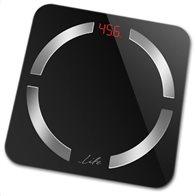 Life Bluetooth Ηλεκτρονική Ζυγαριά Μπάνιου Με Λιπομέτρηση Smartweight BT Μαύρο