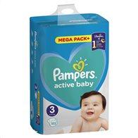 Pampers Πάνες Μωρού Active Baby Mega Pack Νούμερο 3 (6-10 kg) 152τμχ