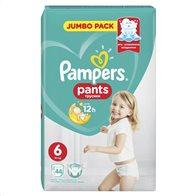 Pampers Pants Jumbo Pack Μέγεθος 6 (15+ kg) 44 Πάνες-βρακάκι 81696626