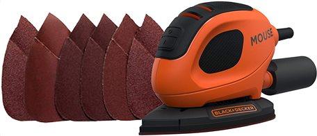 Black+Decker Τριβείο ηλεκτρικό Mouse 55W Sander BEW230-QS