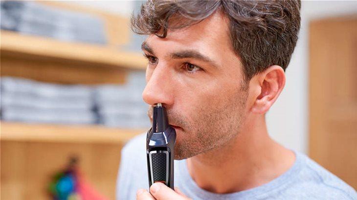 Απομακρύνετε τις ανεπιθύμητες τρίχες από τη μύτη και τα αυτιά, εύκολα και άνετα