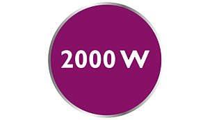 Ισχύς έως και 2000W