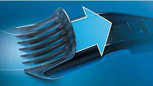 Τεχνολογία Trim-n-Flow για συνεχή ροή κοπής