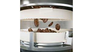 20.000 φλιτζάνια από τον εκλεκτότερο καφέ με τους ανθεκτικούς κεραμικούς μύλους