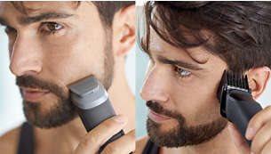 Τριμάρετε και δώστε στυλ στο πρόσωπό σας, τα μαλλιά και το σώμα με 9 εξαρτήματα