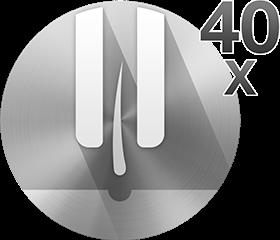Τεχνολογία MicroGrip με τσιμπίδες