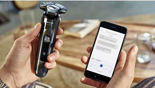 Βελτιωμένη εμπειρία ξυρίσματος με τη χρήση εφαρμογής