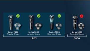 Συμβατές με όλες τις μηχανές S7xxx και S5xxx με γωνιακό σχήμα