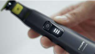 Λυχνία LED που δείχνει την κατάσταση της μπαταρίας