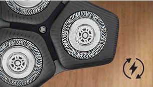 Η ξυριστική μηχανή S5587/10 διαθέτει Eco Passport
