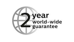 2 χρόνια παγκόσμια εγγύηση