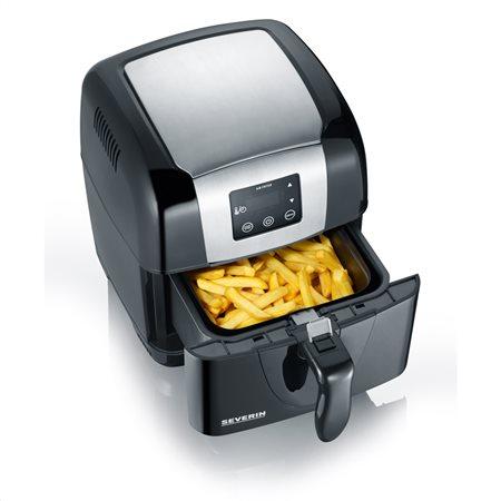 Υγιεινό τηγάνισμα με την τεχνολογία θερμού αέρα