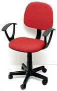 Velco Καρέκλα Γραφείου Κοκκινη
