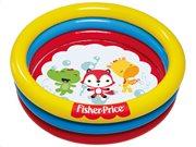 Bestway Fisher Price Φουσκωτή Παιδική Πισίνα για Εσωτερικό και Εξωτερικό χώρο θέμα Zωάκια, 93501