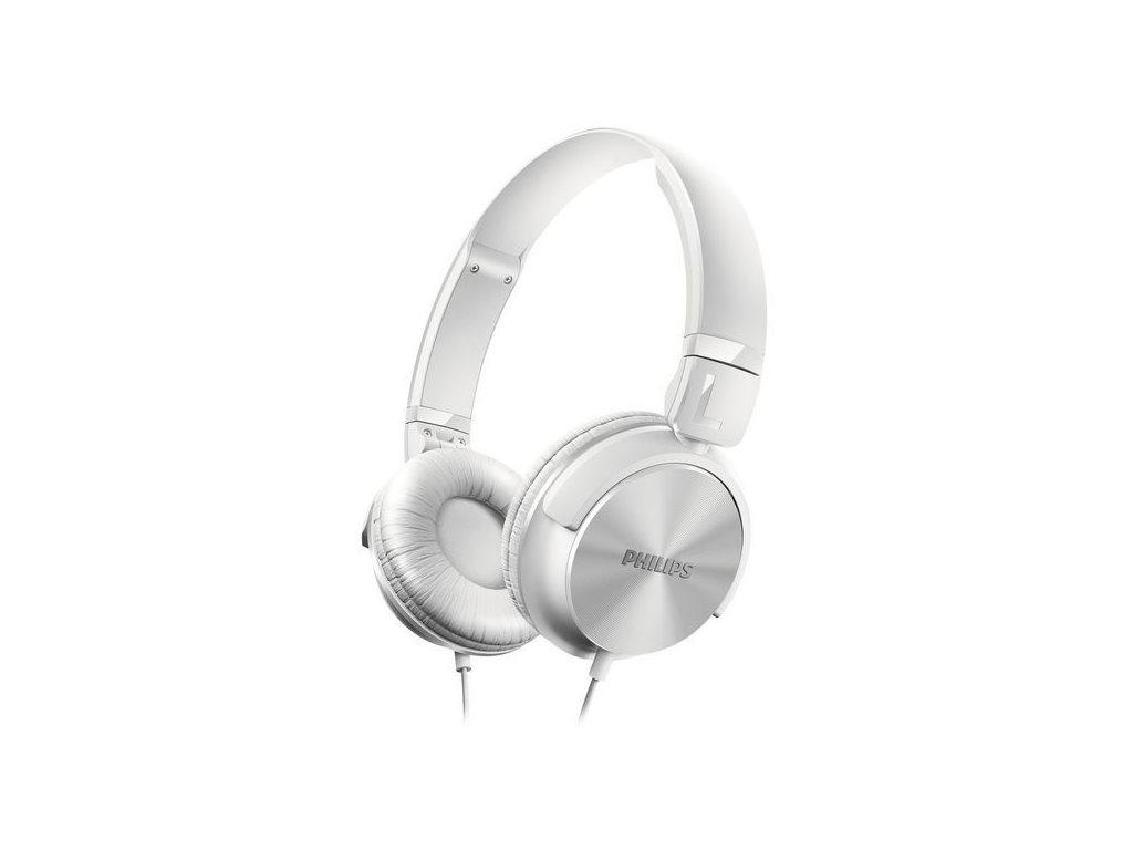 Philips Αναδιπλούμενα Στερεοφωνικά Ακουστικά 106dB σε Λευκό χρώμα, SHL3060WT