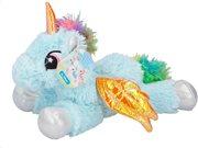 Λούτρινο Παιχνίδι Μονόκερος σε Μεγάλο Μέγεθος, 34cm, Plush Unicorn Eddy Toys 01510 Απαλό Γαλάζιο