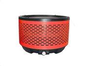 Aria Trade Φορητή Γκριλιέρα BBQ από Ανοξείδωτο Ατσάλι, σε κόκκινο χρώμα, 32.4x22cm, Cooltouch Grill