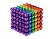 Aria Trade Μαγνητικές Μπίλιες Μικρά Σφαιρίδια 3mm των 216 τεμαχίων σε πολύχρωμο χρωματισμό, Magnetic Blocks