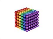 Aria Trade Μαγνητικές Μπίλιες Μικρά Σφαιρίδια 5mm των 216 τεμαχίων σε πολύχρωμο χρωματισμό, Magnetic Blocks