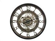 Αναλογικό ρολόι τοίχου κατάλληλο για διακόσμηση με διάμετρο 51 cm
