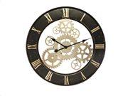 Αναλογικό ρολόι τοίχου κατάλληλο για διακόσμηση με διάμετρο 67 cm