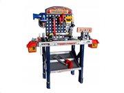 Παιδικός Πάγκος Εργασίας Παιχνίδι μίμησης Εργαστήρι με εργαλεία, 76x52x26 cm, Workbench