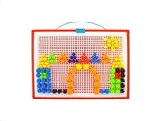 Σετ Παζλ 300 τεμαχίων σε διάφορα μεγέθη και χρώματα σε βαλίτσα μεταφοράς, Mushroom jigsaw puzzle