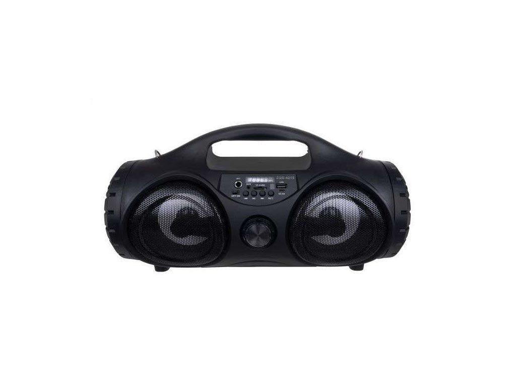 Ασύρματο Bluetooth ηχείο με μικρόφωνο Karaoke, ραδιόφωνο και δυνατότητα επέκτασης μνήμης, 16x39x21cm