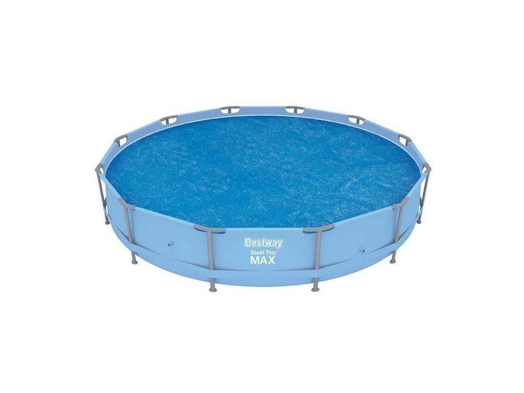 Bestway Αντιηλιακό κάλυμμα πισίνας, στρογγυλό, κατάλληλο για πισίνες bestway με διάμετρο 366cm