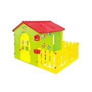 Παιδικό σπιτάκι Φυτώριο Garden House εξωτερικού χώρου, με φραχτη, 120x165x120cm