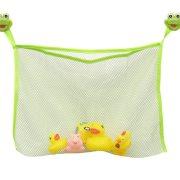Τσαντάκι από δίχτυ για το ντους με βεντούζες, σε πράσινο χρώμα, Bath bag