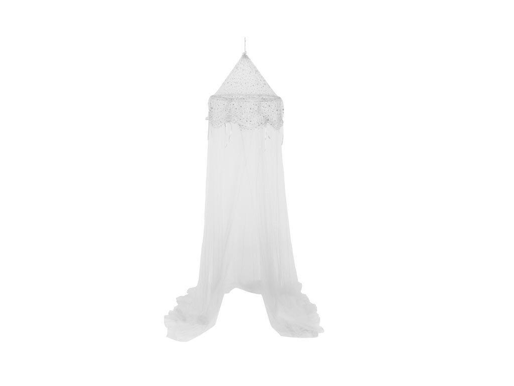 Aria Trade Κουνουπιέρα Κρεβατιού 60x250cm Princess White