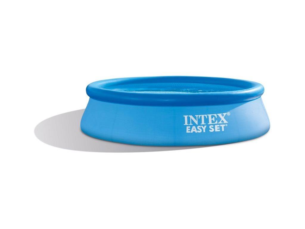 Intex Φουσκωτή Πισίνα για Εξωτερικό χώρο 305x76cm σε Μπλε χρώμα, Easy Set Pool 28122
