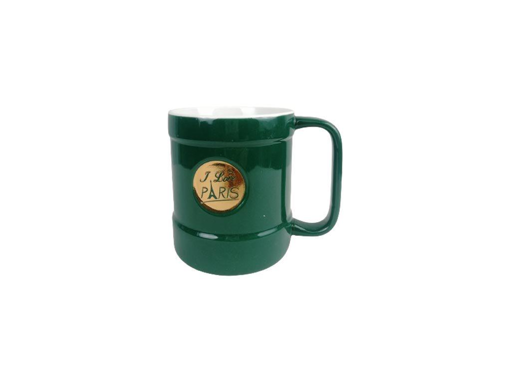 Κεραμική Κούπα με λαβή σε μαύρο χρώμα, Coffee mug