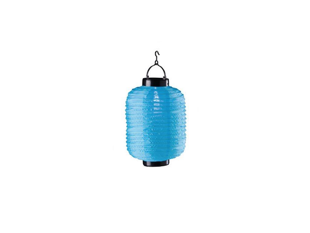 Ηλιακό Κρεμαστό Φαναράκι Φωτιστικό LED Εξωτερικού Χώρου, 20x30 cm, Solar lamp Μπλε