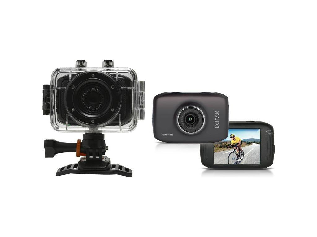"Denver Mini HD Action Camera με οθόνη αφής 2 "", 5 ΜP με μικρόφωνο και HD βίντεο, ACT-1302T"