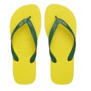 Havaianas Σαγιονάρες Unisex Brazil σε κίτρινο χρώμα 43/44