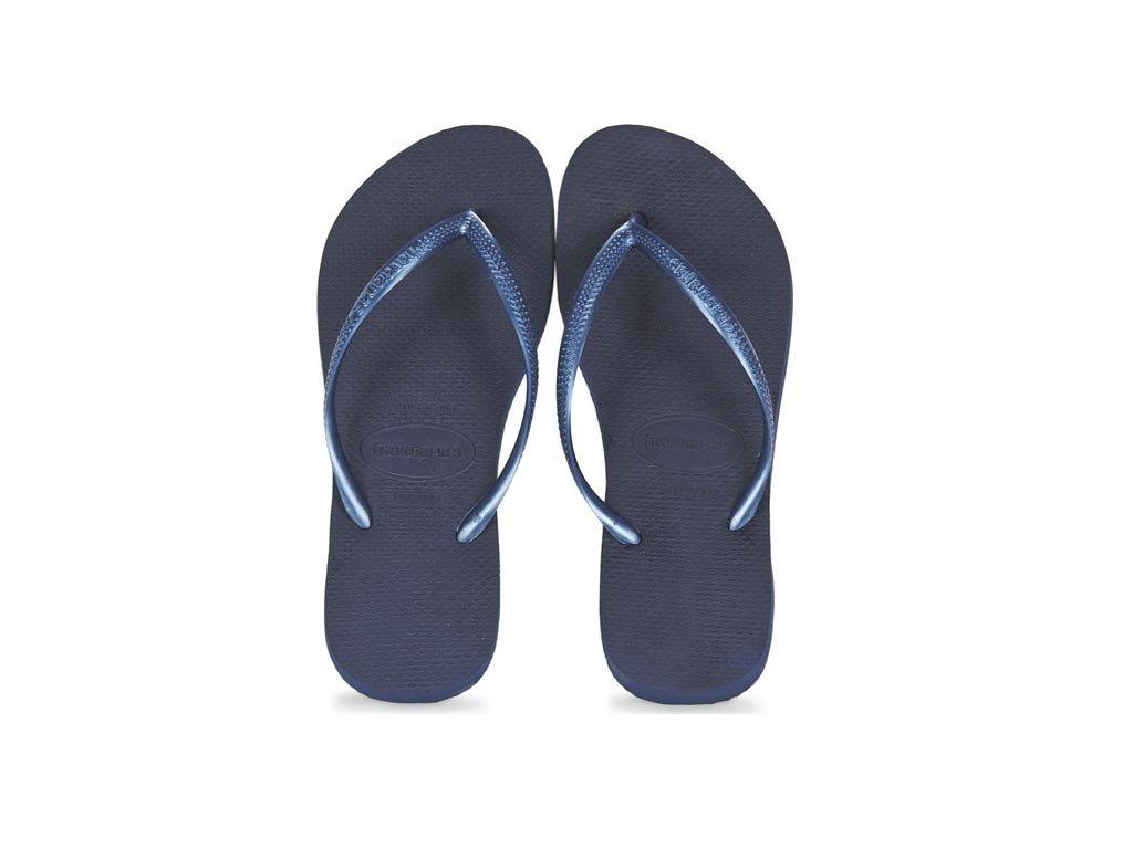 Havaianas Γυναικείες Σαγιονάρες, Flip Flops, σε μπλε σκούρο χρώμα 37/38