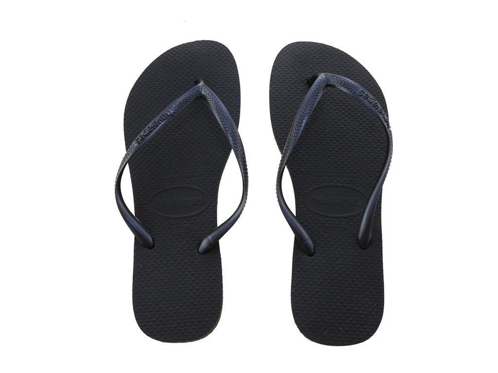 Havaianas Γυναικείες Σαγιονάρες, Flip Flops, σε μαύρο χρώμα 37/38
