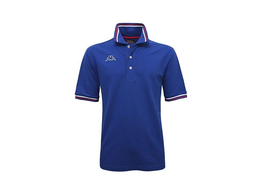 Kappa Ανδρική Μπλούζα Polo σε μπλε χρώμα με γιακά, Maltax 5 Mss Small