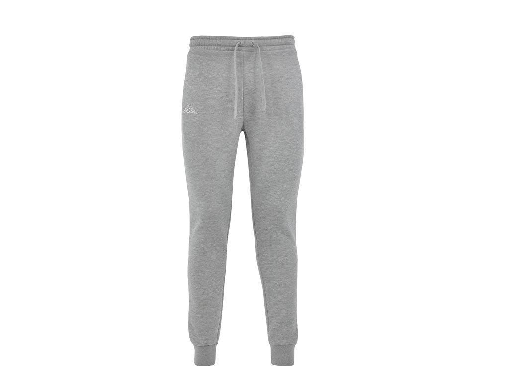 Kappa Ανδρικό Παντελόνι Φόρμας Γυμναστικής σε Γκρι Χρώμα, Jogging Pants Medium