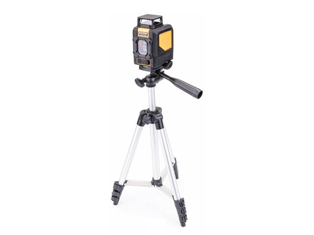 Αλφάδι Laser Σταυρού 360 ° Πράσινης Δέσμης με Τρίποδο, Powermat PM-PLK-360T