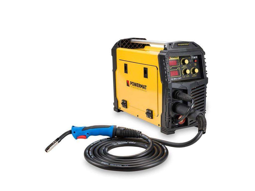 Ηλεκτροκόλληση Inverter 230A 230V MIG, MAG, TIG, MMA, Powermat PM-IMG-230T