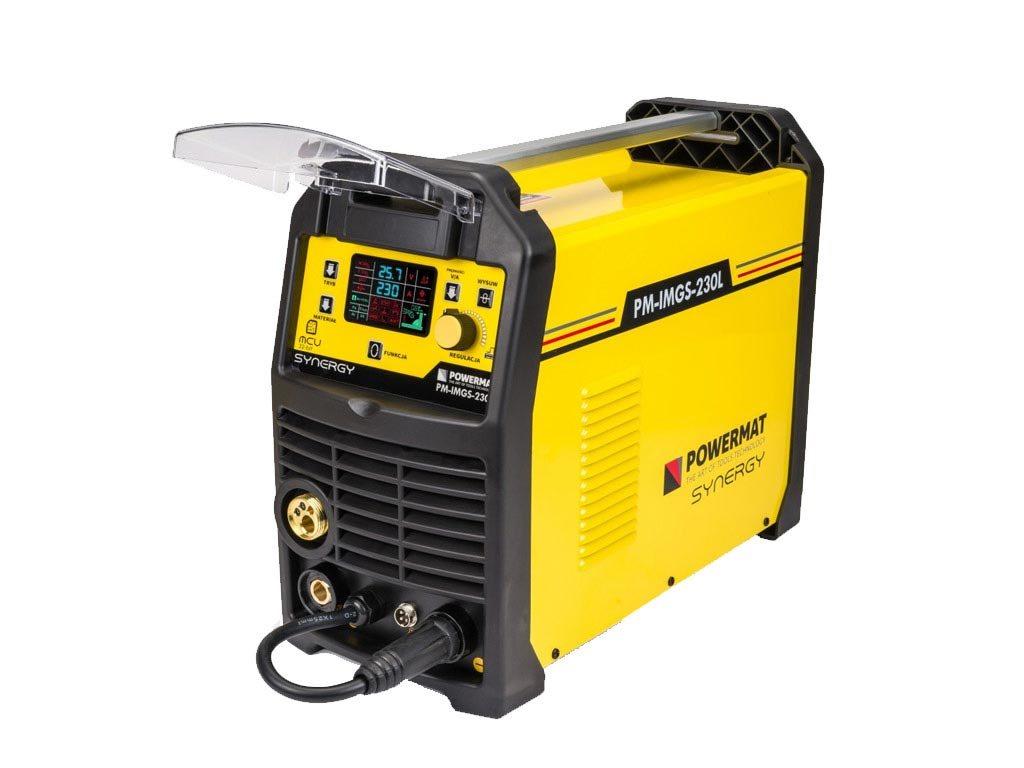 Ημιαυτόματη Ηλεκτροκόλληση Inverter 230A 230V MIG, MAG, MMA LIFT-TIG IGBT, Powermat PM-IMGS-230L
