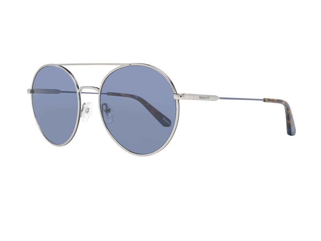 Gant Ανδρικά Γυαλιά Ηλίου με μεταλλικό σκελετό και μπλε φακό, GA7117 10X 58