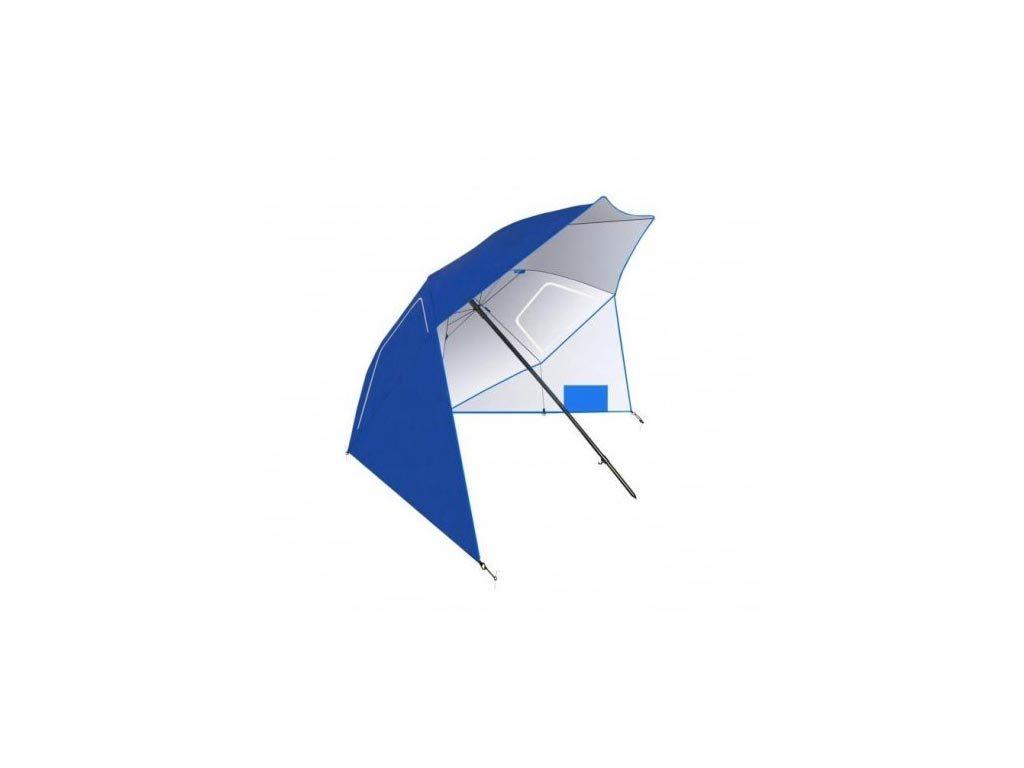 Ομπρέλα Παραλίας από πολυεστέρα σε μπλε χρώμα, 230 cm