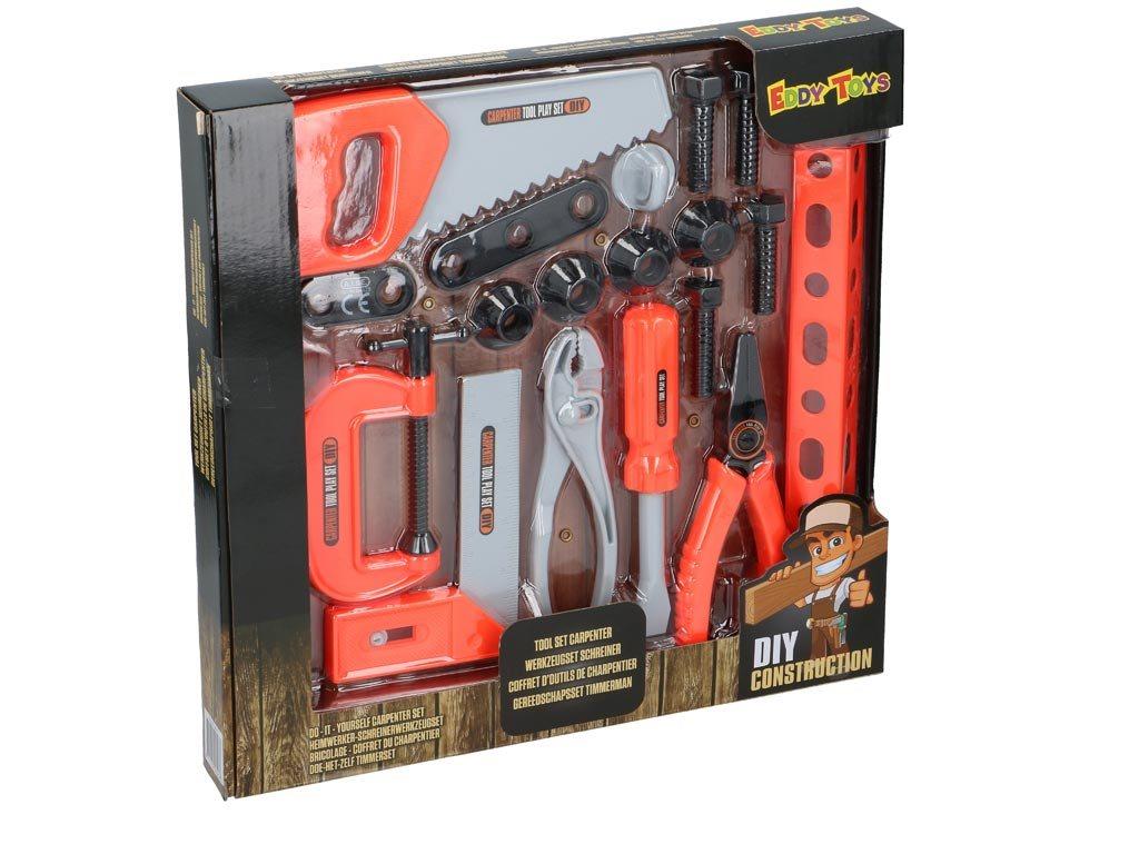 Eddy Toys Παιδικά Εργαλεία Ξυλουργού 04523 20τμχ
