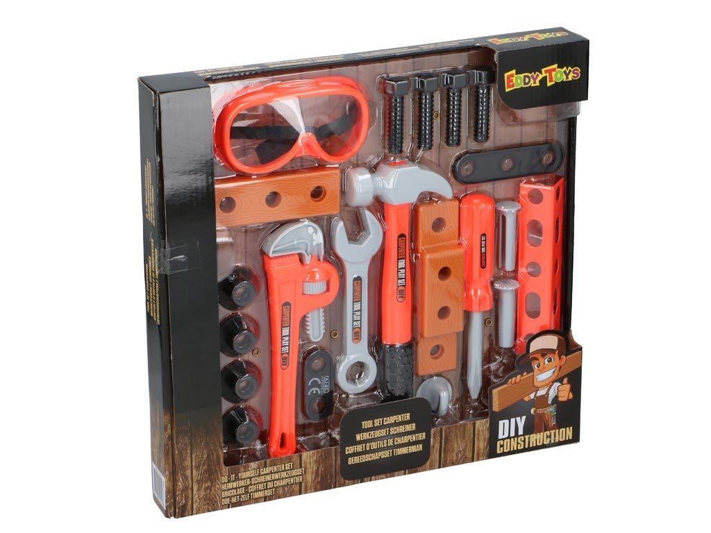 Eddy Toys Παιδικά Εργαλεία Ξυλουργού 04523 21τμχ